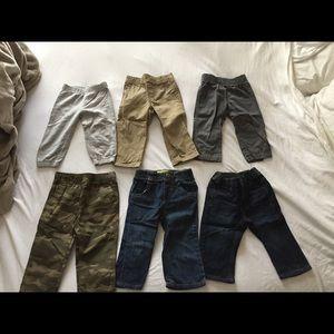 13 pairs of pants